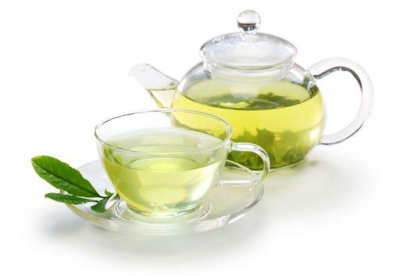 Чай зелёный (чайник)