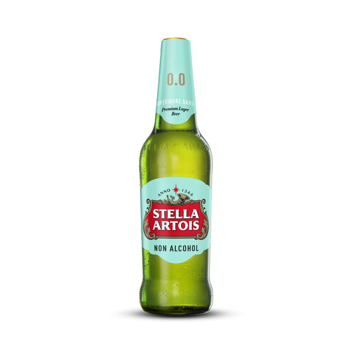 Стелла Артуа бутылочное (безалкогольное)